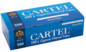 Цигарени гилзи Cartel 100's BLUE