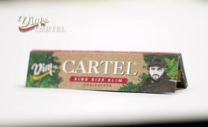 Листчета Dim by CARTEL (120 мм)  King Size Slim Unbleached