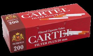 Празни цигари с филтър Cartel 200 20мм - 50 кутии