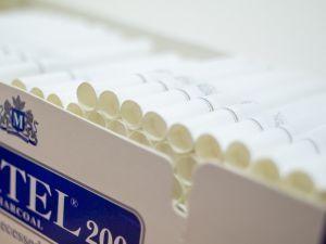 Цигарени гилзи CARTEL 200 рецес карбон 20 мм бял филтър