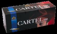 Празни цигари с филтър Cartel 500 - 20 кутии
