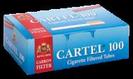 Празни цигари с филтър Cartel 100 Карбон - 100 кутии