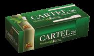 Празни цигари с филтър Cartel 200 Ментол Карбон - 50 кутии