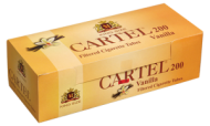 Празни цигари с филтър Cartel 200 Ванилия - 50 кутии
